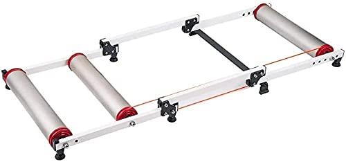 Plataforma de montar en bicicleta, bicicleta turbo entrenador, plataforma de entrenamiento retráctil de fitness, rodillo de resistencia magnética plataforma de montar en bicicleta de montaña