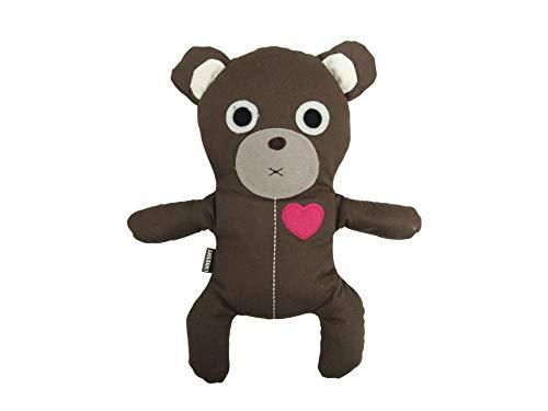 Huggie Bear Wärmetier Wärmekissen Kuschelbär Teddybär Teddy dunkelbraun schwarz