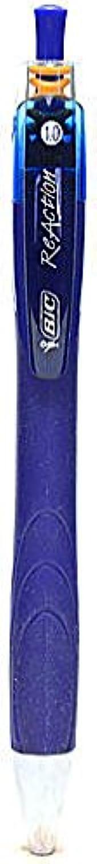 BIC ReAction Druckkugelschreiber (blau) 5 PCS SKU   1849463 MA B015TB1JI6 | Helle Farben