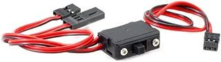 Hitec RCD 57215S Switch Harness w/Chrg Conn Universal
