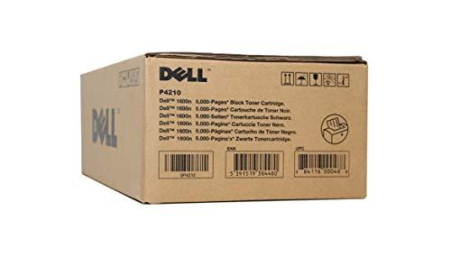 Dell P4210 Tonerkassette mit hoher Kapazität für Dell 1600n Multifunktionsdrucker Kapazität 5.000 Seiten Schwarz