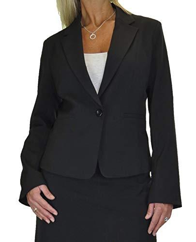 icecoolfashion jas volledig gevoerd wasbaar business office zwart 10-18