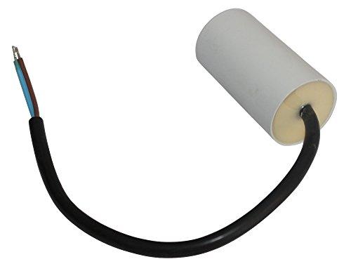 AERZETIX: Condensatore di marcia e avviamento motori elettrici monofase 450V a 12µF C10221