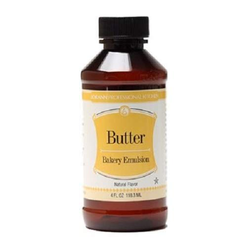 LorAnn Butter, Natural (Clear) Bakery Emulsion, 16 ounce bottle
