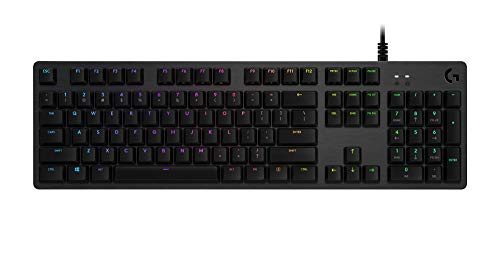 Logitech G 920-009370 Full Size Keyboard Windows 7, Zwart
