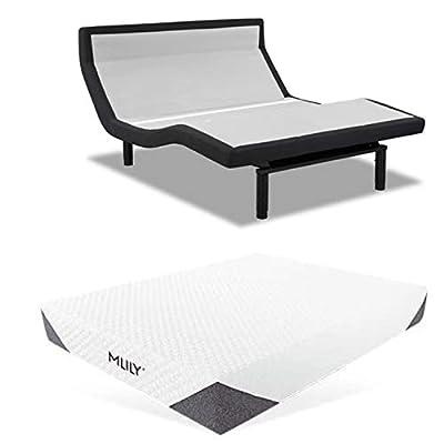 "Leggett & Platt Prodigy PT Adjustable Bed w/Choice of MLily Cool Gel Memory Foam Mattress (Twin XL Harmony 10"")"