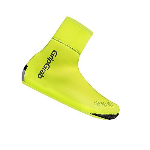 GripGrab Unisex-Adult Arctic Waterproof Deep Winter Überschuhe Fahrrad, Gelb Hi-Vis, XL (44/45)