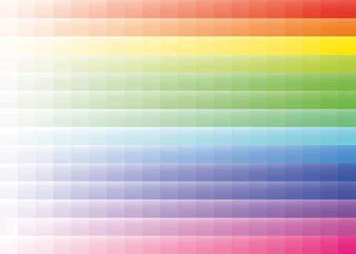 LLYMGX Puzzle Für Erwachsene 1000 Stück Kinder Alter 8 Jahre Altes Spielzeug Für Männer Frauen Kinder Jungen Mädchen Kunst Dekoration Landschaft Poster Pixel Farbverlauf
