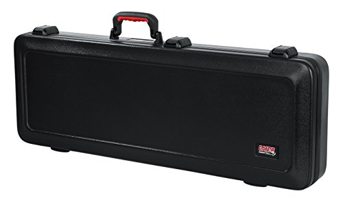 Gator Cases Molded Flight Case For Strat/Tele Style Electric Guitars With TSA Approved Locking Latch (GTSA-GTRELEC)