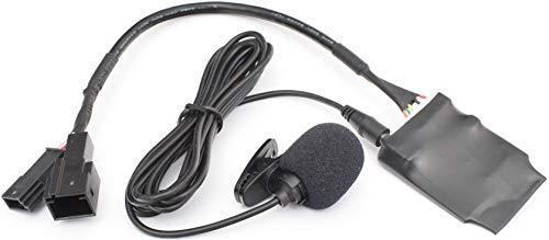 BlueMusic Bluetooth Freisprecheinrichtung Audio Interface kompatibel mit BMW E46 E39 E38 X5 E53 X3 E83 Z4 E85 E86 CD-Wechsleranschluss 3+6 DSP