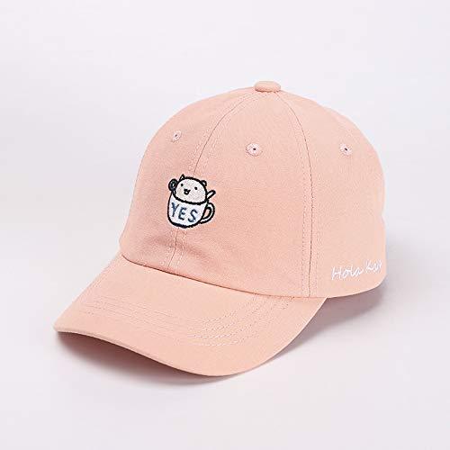 wopiaol Kinder Baseballmütze Herbst Neue niedliche Cartoon Stickerei Junge Mädchen Baby Hut Trend koreanische Kinderhut