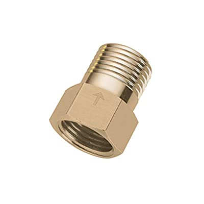 "Hooshing Brass Check Valve 1/2"" Female to 1/2"" Male Thread Non Return One Way from Hooshing"