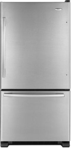 Whirlpool : GB2FHDXWD 22 cu. ft. Bottom Mount Refrigerator - Stainless Steel