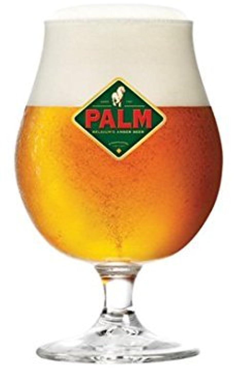 すり予防接種タックルPalmベルギービールガラスChalice