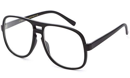 Newbee Fashion Steve Urkel - Gafas de Disfraz, Color Negro