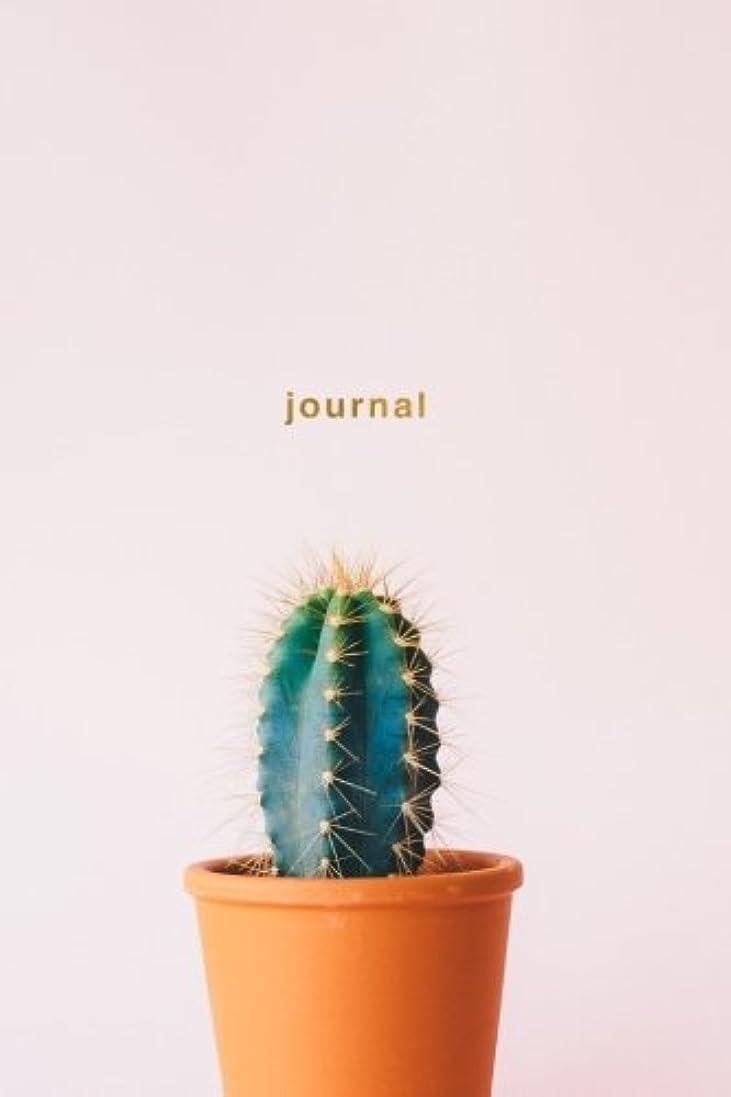 動員するスリップシューズベアリングJournal: Cactus Notebook Wide-Ruled 175-Pages (Cactus Journals)