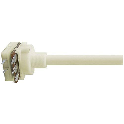 Weltron 002212086874 - Potenciómetro rotativo (470 kΩ lineal con interruptor, 1 unidad)