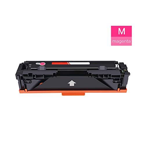 Cartuccia toner CF530A, adatta per HP Color Laserjet Pro M154a M154nw MFP M180n M180fw, non danneggia la stampante con buona compatibilità e protezione ambientale (con chip) size Rosso