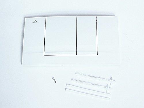 Friatec WC Betätigungsplatte F 102 weiß-alpin