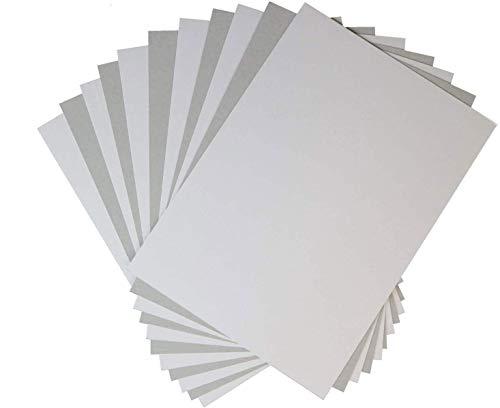 【日本製】 白ボール紙6号 A4サイズ用 表紙 台紙 厚紙 【10枚】 215 x 302 厚さ約0.4mm