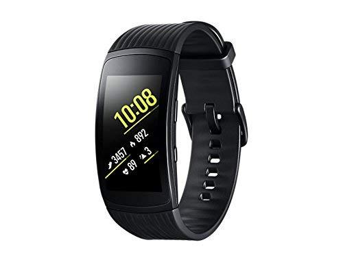 Samsung Gear Fit2 Pro Smartband, Nero (Large), GPS, Impermeabile 5 ATM [Versione Italiana] (Ricondizionato)