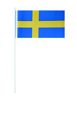 Flaggenfritze® Papierfahnen Schweden