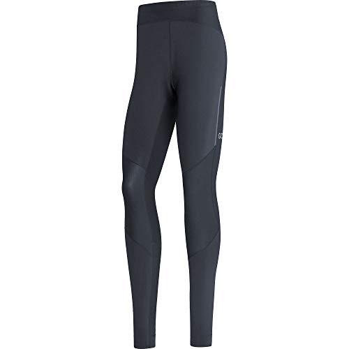 GORE WEAR Pantaloni da corsa a compressione per uomo, R5, GORE-TEX INFINIUM, L, Nero