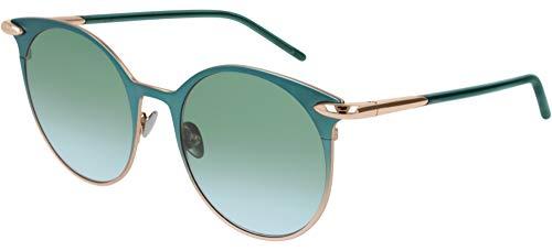 Occhiali da Sole Pomellato PM0053S Green/Green Shaded 52/19/140 donna