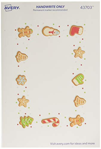Avery Baked Goods Holiday Labels, 3