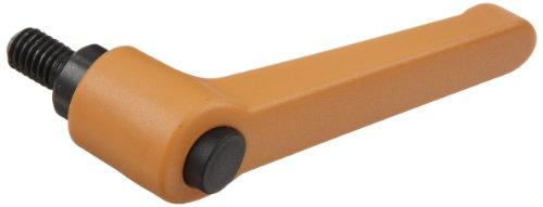 1-49//64 Thread Length S//S Threaded Stud Nylon Adjustable Handle 3//8-16 TPI Thread 2-5//32 Height 3-1//16 Length Pack of 1