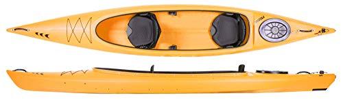 Prijon Custom Line CL 470 Relax offenes Zweier-Kajak für Familien und Verleih, Prijon Farben :gelb, Prijon Ausstattung:ohne Steuer