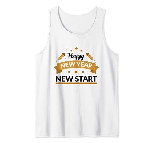 Silvester-Party-design Glückliches neues Jahr 2021 Camiseta