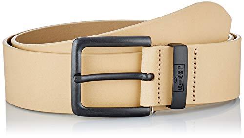Levi's New Albert Metal Cintura, Marrone Chiaro, 110 cm Uomo