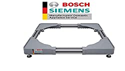 Bosch Siemens Original Adjustable Pedestal for Washing Machine (Universal Stand for All Front Load Washing Machines)