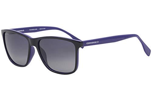 Converse Männer All Star SCO050 Sonnenbrille w/Polarisiert Dark Blue Gradient Lens 58mm G75P SCO050Q SCO 050Q SCO 050 Marine Lens-58-Brücke-16 Temple-145