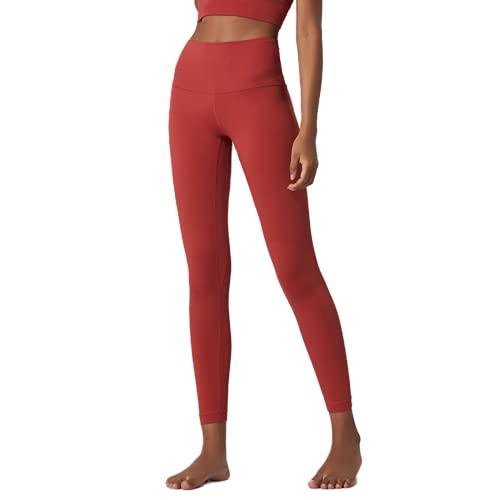 QTJY Pantalones de Yoga Deportivos Delgados sexys para Mujer, Gimnasio con Bolsillos, Leggings de Cintura Alta, Pantalones Deportivos elásticos con Push-up C XL