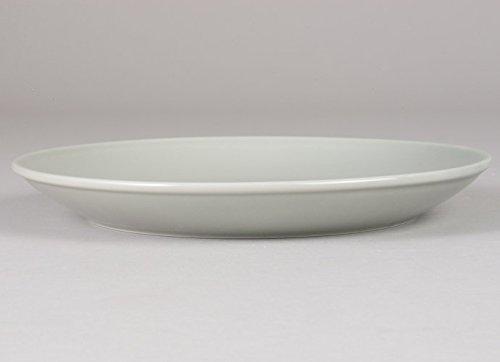 西海陶器波佐見焼 「 コモン 」 プレート 24cm グレー 13215