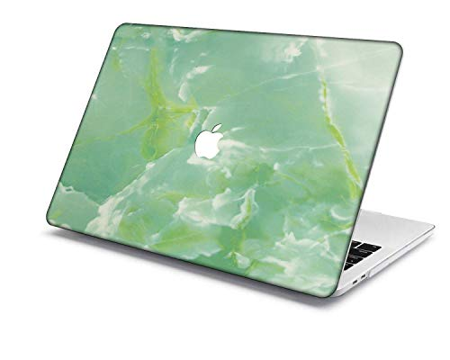 MacBook Pro 13 Case Model:A1708/A1706/A1989/A2159,QiuHuiCase Plastic Shell Case Only Compatible 2016-2019 Release MacBook Pro 13 inch with Touch Bar Touch ID (Marble 50)
