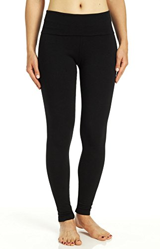 Hard Tail Contour Rolldown Ankle Legging Black Small