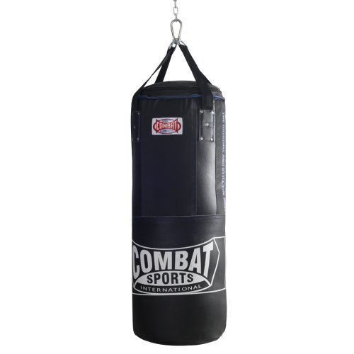 Combat Sports Leather/Nylon Heavy Bag (90-Pound