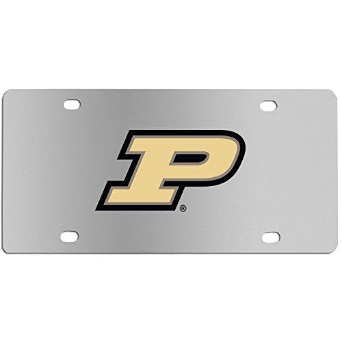 Siskiyou Sports NCAA Purdue Boilermakers Steel License Plate with Digital Graphics