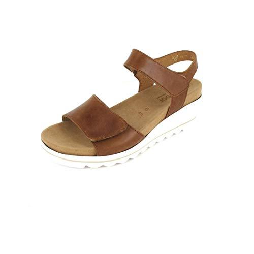 Gabor Comfort Sandale Größe 5, Farbe: Camel