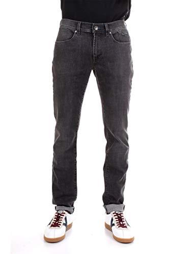 JECKERSON P00UPA079D040118 Jeans Uomo Nero 32