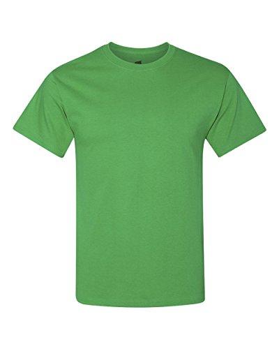 Hanes Mens 5.2 oz. ComfortSoft Cotton T-Shirt (5280) Shamrock Green s