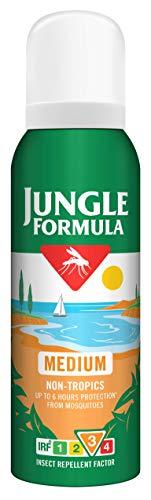 Jungle Formula Spray repelente de insectos mediano con DEET, 125 ml