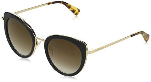 Love Moschino Damen MOL006/S Sonnenbrille, Schwarz (Black), 51