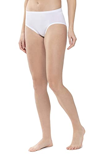 Mey Basics Serie Noblesse Damen Taillenslips/ - Pants Weiß M