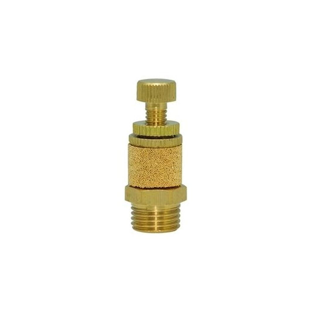 Clippard SCM-Q Brass Speed Control Muffler, 1/4