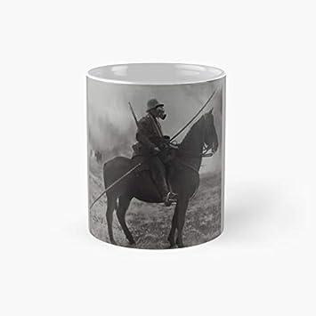 Taza clásica de caballería alemana   El mejor regalo divertidas tazas de café 11 oz