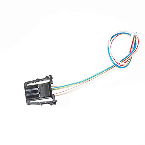 XUNGED Coche Lectura trasera Mapa Cúpula Luz Lámpara Ajuste para VW Beetle Golf Passat Tiguan Caddy Bora S-Koda Fabia Seat 3B0947291 (Emitting Color : Wire)